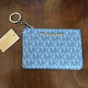 Michael Kors ID Key Coin Pouch Wallet NWT